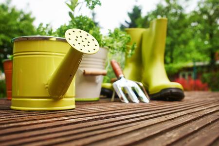 Outdoor gardening tools  photo