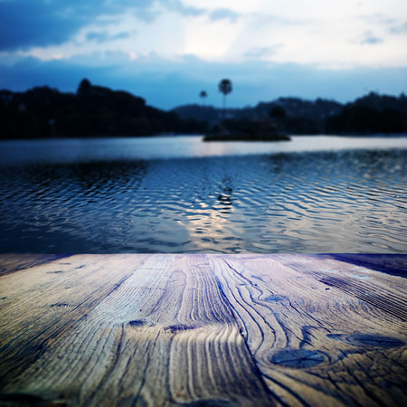 wood textured on the sri lanka landscape  photo