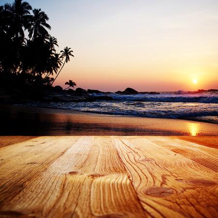 mellow: wood textured on the sri lanka landscape