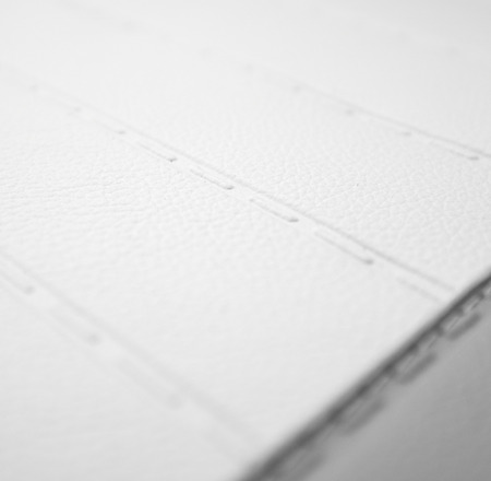 black and white sewing leather texture  photo