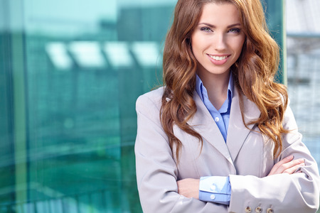 Real Estate Agent Woman  Stock Photo