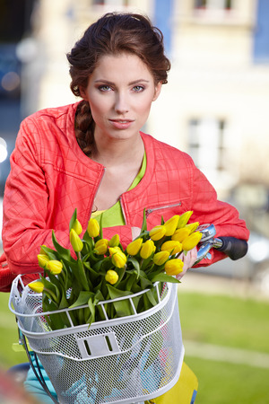 Spring woman  photo