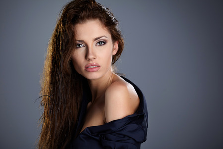 Beautiful woman portrait photo