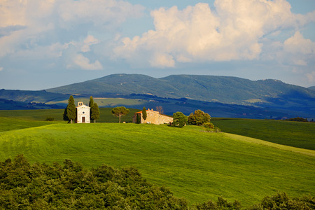 homestead: Countryside, San Quirico d`Orcia , Tuscany, Italy