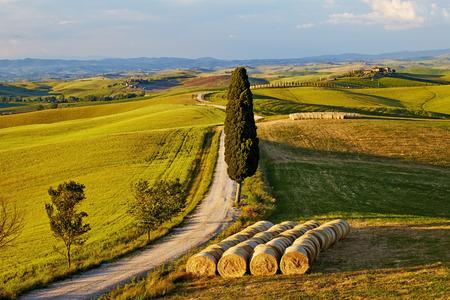 Beautiful Italy Tuscan landscape  photo