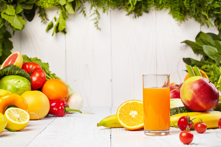 Various Freshly Vegetable Juices for Detox photo