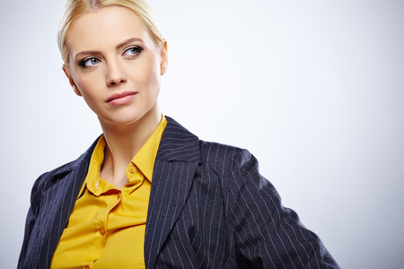 bussines: business woman in glasses