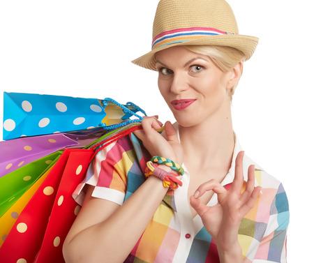compras compulsivas: La mujer y el éxito del verano de compras