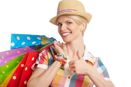 compras compulsivas: La mujer y el verano de �xito comercial