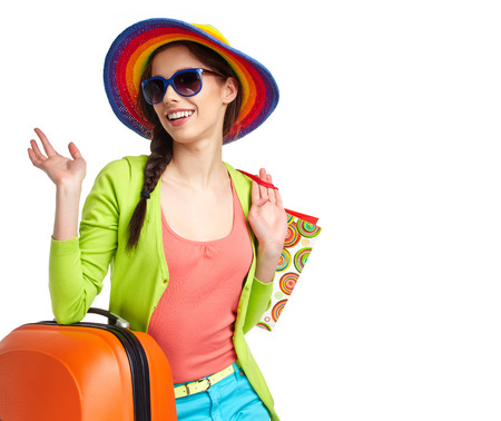 faire les courses: Summer shopping Banque d'images