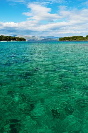 coastline: Adriatic Sea coastline in Croatia