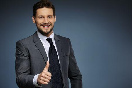 man business: businessman in suit