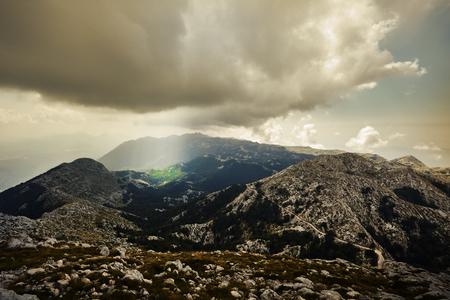 jure: Nature Park Biokovo on Dalmatian coast near Makarska Riviera in Croatia