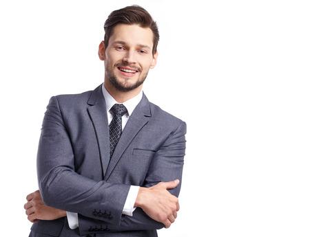 businessman suit: businessman in suit