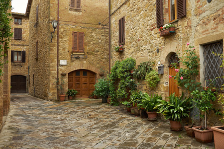 pictorial: traditional pictorial streets of old italian villages