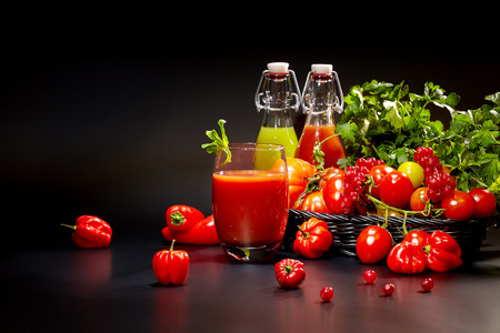 antioxidants: healthy vegetable juices for refreshment and as an antioxidant .