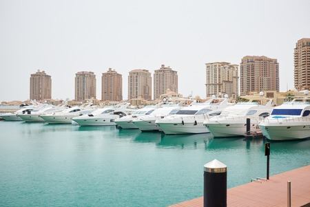 marina water: Qatar yacht marina view - the pearl