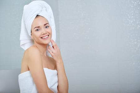 foolish: Young Woman in the Bathroom