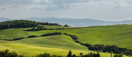 podere: Tuscany scenery, Italy Stock Photo