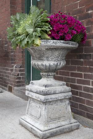 urn: Fall Foliage in Urn