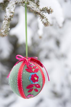 Arbre de Noël Décoration Banque d'images - 48543203