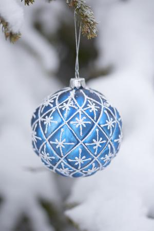 Christmas Tree Decoration Stockfoto