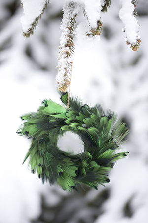 Christmas Tree Decoration - Wreath