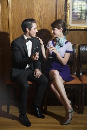 Young Man and Woman Stock fotó