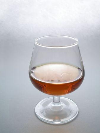 liqueur labels: Transparent glass with strong alcohol