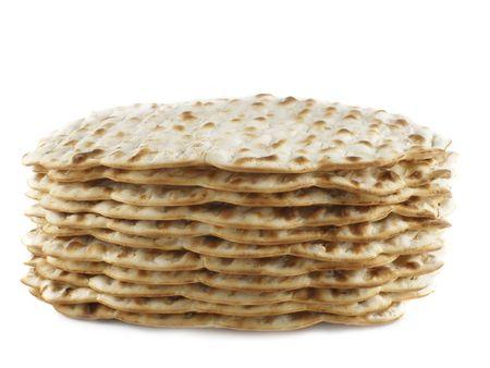 matzoth: Matzoh -  jewish passover bread close-up