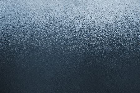 dampness: Drops on the window glass, may be used as background Stock Photo