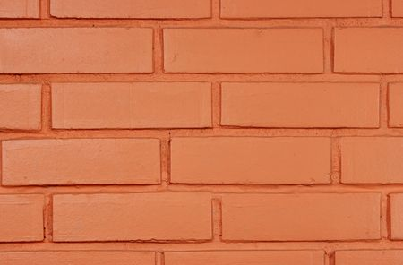 regular: Close-up of brick wall may be used as background