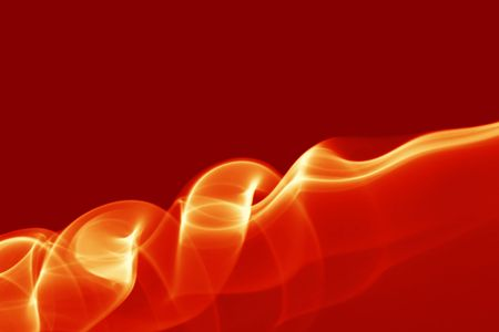turbulent: Red smoke, may be used as background Stock Photo