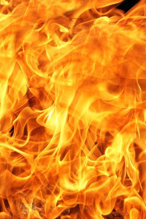 chemin�e gaz: Feu pr�s, mai �tre utilis� comme arri�re-plan