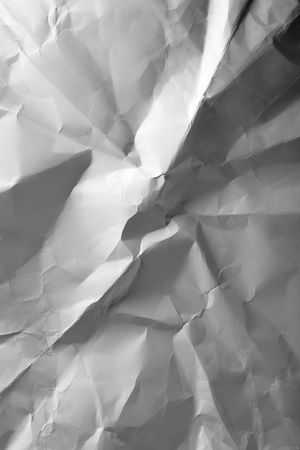 Crumpled paper, may be used as background photo