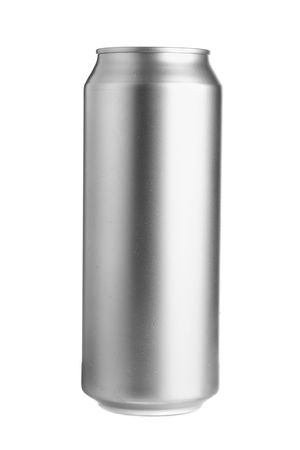 Aluminum beer can isolated over white background Stock Photo - 3520197