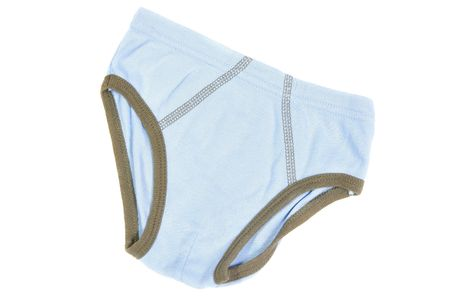 children's wear: Childrens wear - boys pants isolated over white background