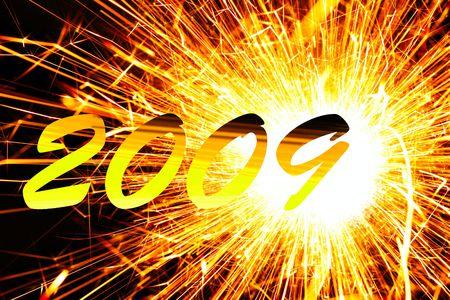 Happy new year 2009 photo