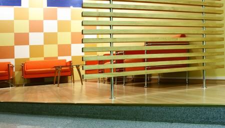 moderm: Moderm interior of a waiting room