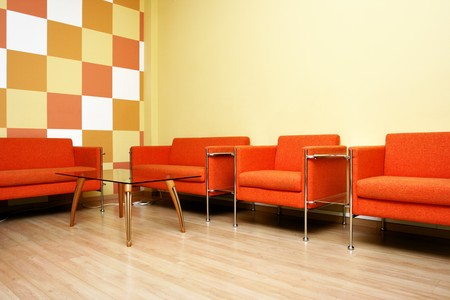vip area: Moderm interior of a waiting room