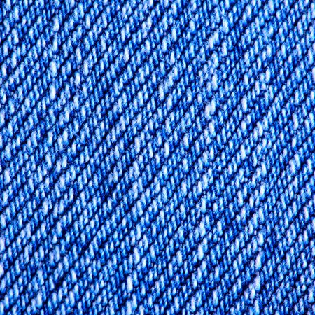 Blue jeans texture, may be used as background Stock Photo - 4660298