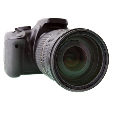 Black DSLR camera Stock Photo - 4745513