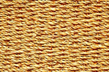 High definition shot of wicker texture close-up photo