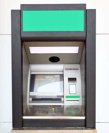 Close up of automated teller machine Stock Photo - 4948285