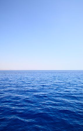 Sea and sky, may be used as background Stock Photo - 4948465