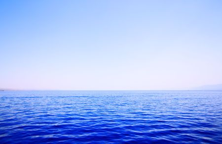 Sea and sky, may be used as background Stock Photo - 5073238