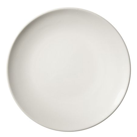 glass plate: Dinner plate isolated over white background