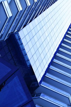 Modern office building, may be used as background Stock Photo - 5224555