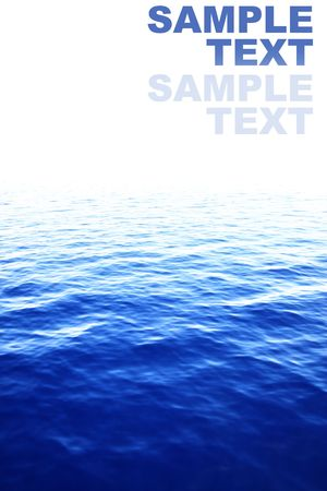 notion: Blurred water with space for your own text Stock Photo