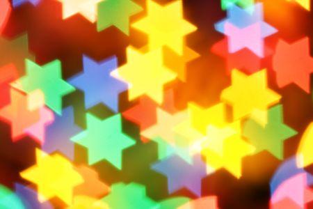 pesaj: Colorido borrosa estrellas, se pueden utilizar como fondo